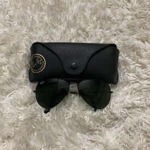 Ray Ban All Black Aviator Sunglasses